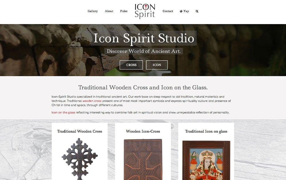 Arts-Step design studio-web design-Icon-Spirit-studio