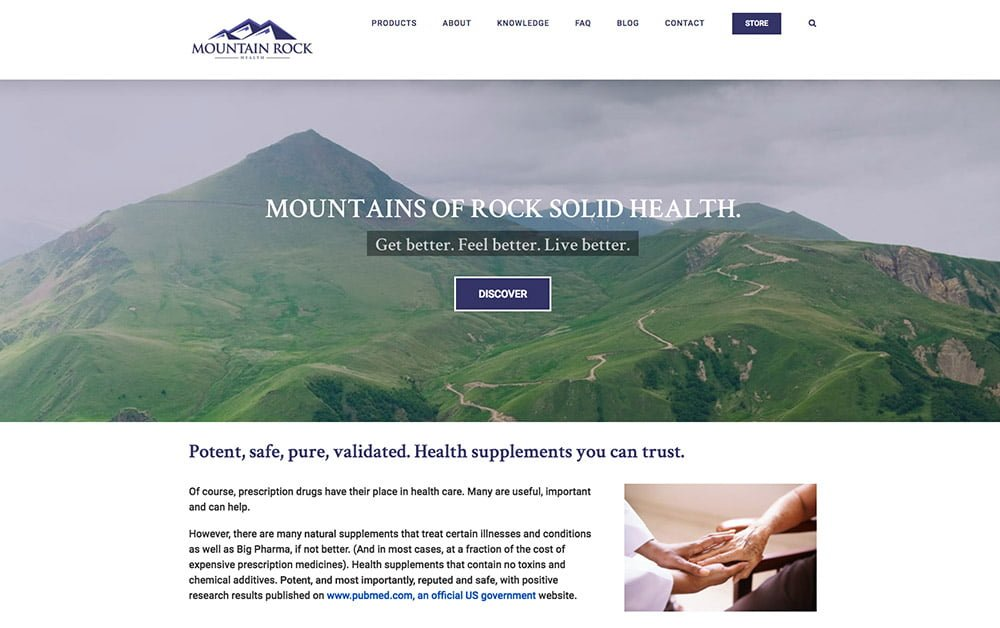Mountain Rock Health project