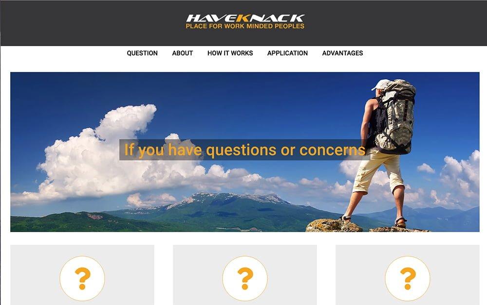 Landing-Page-HaveKnack-application-big